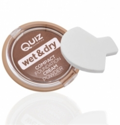 Пудра Quiz Wet&Dry Compact Foundation Cream Powder