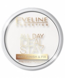Пудра Eveline All Day Ideal Stay Mat Finish & Fix Powder