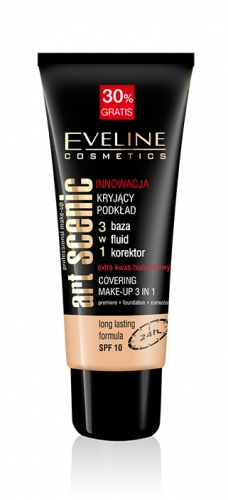 купить Eveline Cosmetics Art Professional Make-up 3in1 недорого