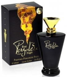Parfums Pergolese Paris Rue Pergolese Night
