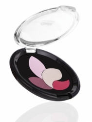 Тени Quiz Fashion Trendy Eyeshadow `4