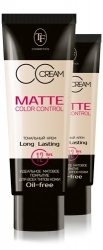 TF Cosmetics Matte Color Control CC Cream (TW-09)