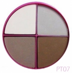 Тени Flormar Акция Pretty Compact Quartet Eye Shadow