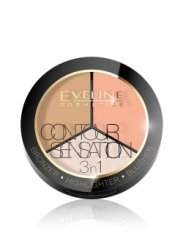 Пудра Eveline Contour Sensation 3in1