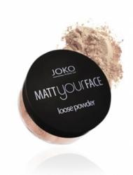 Пудра JOKO MAKE-UP Matt Your Face Loose Powder