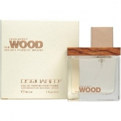 DSQUARED² She Wood Velvet Forest Wood