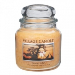Village Candle Свеча Африканское Сафари
