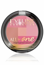 Румяна Eveline Cosmetics All In One Highlighter Blush