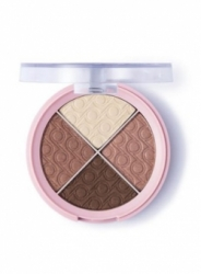 Тени для век Flormar Pretty Quartet Eyeshadow