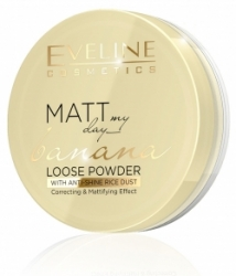 Пудра Eveline Cosmetics Matt My Day Banana Loose Powder
