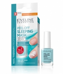 Уход Eveline Cosmetics Nail Therapy Professional Peel Off Sleeping Mask