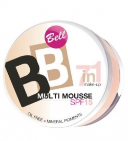 купить Bell Cosmetics BB Multi Mousse 7in1 Make-Up SPF15 недорого