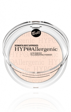 купить Bell Cosmetics HYPOAllergenic Face&Body Illuminating Powder недорого