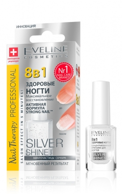 купить Eveline Cosmetics 8в1 Total Action Silver Shine недорого