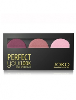 купить JOKO MAKE-UP Trio Perfect Your Look Eyeshadows недорого