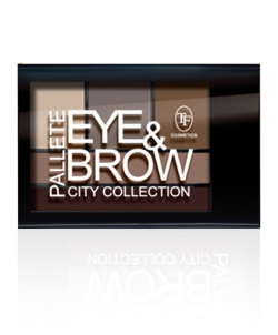 "купить TF Cosmetics Eye & Brow Palette ""City Collection"" (CTE-28) недорого"
