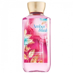 "купить Bath & Body Works Shower Gel ""Amber Blush"" недорого"