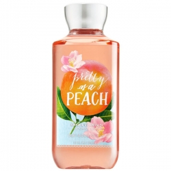 "купить Bath & Body Works Shower Gel ""Pretty As A Peach"" недорого"