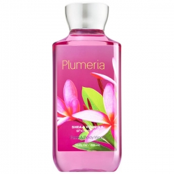 "купить Bath & Body Works Shower Gel ""Plumeria"" недорого"