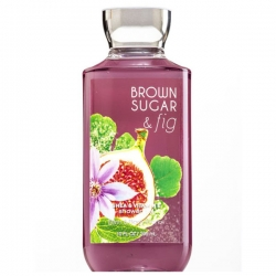 "купить Bath & Body Works Shower Gel ""Brown Sugar & Fig"" недорого"