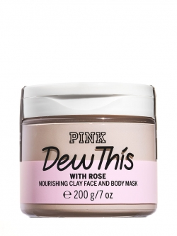 "купить Victoria's Secret Nourishing Clay Face and Body Mask With Rose ""Dew This"" недорого"