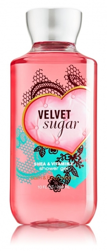 "купить Bath & Body Works Shower Gel ""Velvet Sugar"" недорого"