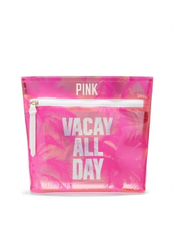 купить Victoria's Secret Косметичка Vacay All Day Pouch недорого