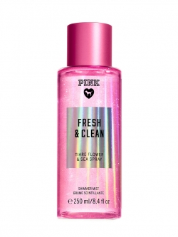 купить Victoria's Secret PINK Shimmer Body Mist Fresh And Clean недорого