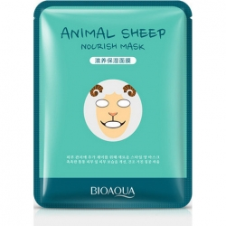 "купить Bioaqua Осветляющая Маска Sheep ""Animal Mask"" недорого"
